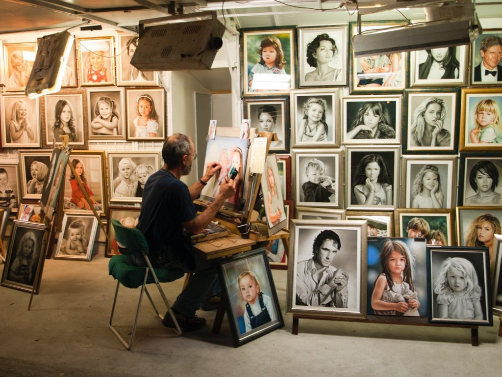 art, gallery, paintings