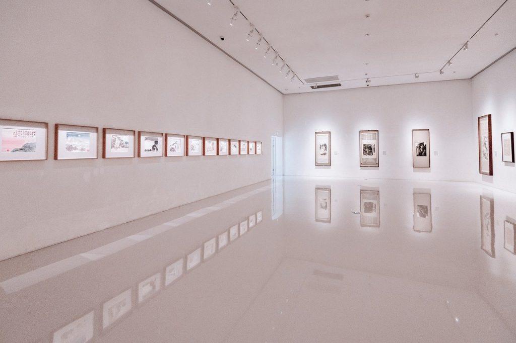 Art gallery tiling work